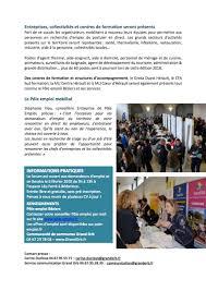 cuisine de collectivit emploi economie emploi grand orb 2ème forum emploi formation le 6