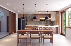 Nature Concept In Interior Design An Open Plan Interior With Enticing Wood Interior Style Roohome