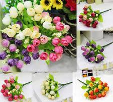 Fake Flower Centerpieces Fake Flower Arrangements Floral Decor Ebay