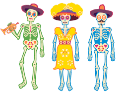 dead mariachi band coloring pages adults dead doll