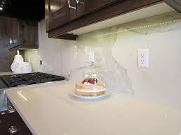 Calacatta ThinSlab Porcelain Oregon Tile  Marble Design - Porcelain backsplash