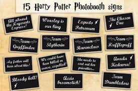 Harry Potter Bathroom Accessories Printable Harry Potter Photobooth Props Instant Download
