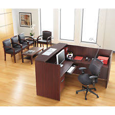 Reversible L Shaped Desk Reception Desk Ebay