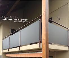 balkon glasscheiben glasgeländer aus individuellem sicherheitsglas kgs