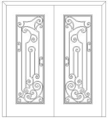 iron grille doors wrought iron gate door lulusoso sc 1