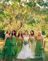 evening wedding bridesmaid dresses 2013 green bridesmaid dresses garden formal