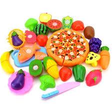jeux fr cuisine pizza 15 18 23 24 pcs cuisine jeu mini food cake pizza légumes fruits