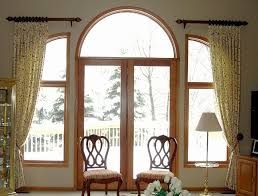 Curtain Designs For Arches Arched Window Treatments