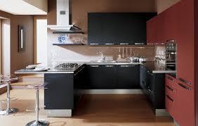cuisine bordeaux mat cuisine en u moderne photos de design d intérieur et décoration