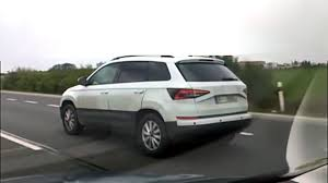 skoda yeti successor spied in motion for the first time
