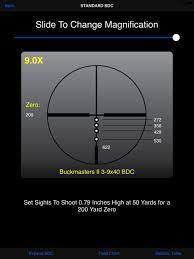 Ballistics Table Nikon Spoton On The App Store