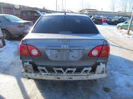 2004 toyota corolla chassis cont mod used very good 21456523