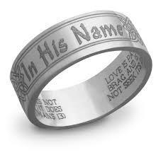 bible verse rings in his name bible verse ring lordsart