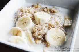 clean eating recipe u2013 maple banana steal cut oats clean eating