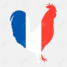 French Flag Pictures Illustration Of Gallic Rooster In French Flag Colors Silhouette