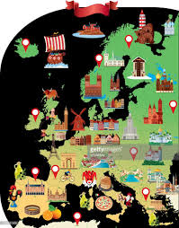 European Map Games by Cartoon Map Of Europe Vector Art Getty Images
