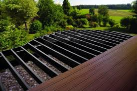 deck framing under deck drainage systems trex