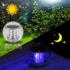 Floating Pool Light Set Of 2 Solar Powered Floating Pool Lights U2013 Solar Lamp Store