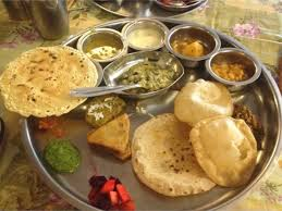 regal cuisine regal hotel matheran india a lunch of delicious gujarati thali
