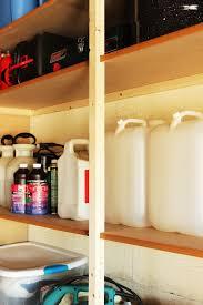 Garage Shelves Diy by Diy Fast And Easy Built In Wall Garage Shelves Interior Designs