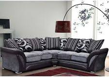Leather And Tapestry Sofa Fabric Sofas Seating U0026 Settees Ebay