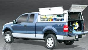 Pickup Truck Bed Caps Appealing Truck Caps With Tool Boxes For Home Design Photo Gallery