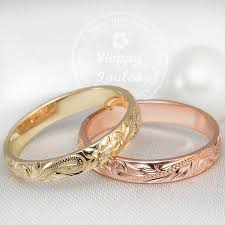 engraved rings gold images 14k gold hawaiian heirloom hand engraved jewelry ring 3mm dome shap jpg