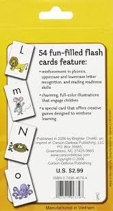 alphabet flash cards brighter child flash cards