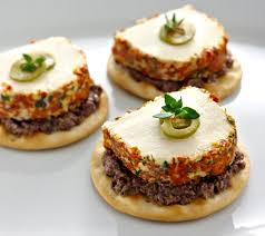 goats cheese canape recipes chavrie sundried tomato chavrie tapenade canapes