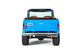 turquoise jeep car early model ford bronco builds classic ford broncos