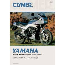 1981 1992 yamaha xj550 xj500r u0026 fj600 clymer repair manual