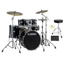 yamaha stage custom birch bass drum 18 x 15 in pure white bass
