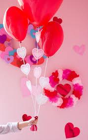 heart doily heart doily balloons design improvised