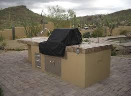 Patio Grills Built In Built In Grill Phoenix Patio Features Desert Crest Press