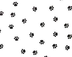 paw print tissue paper small paw print on white tissue paper 333 gift wrap dog