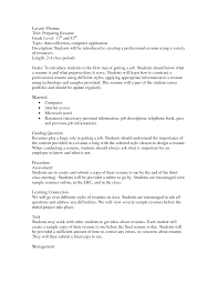 Resume For Teenager First Job by Resume First Job After College How To Write A Resume For First