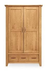fiona quality bedroom 2 door wardrobe with mirror cream and