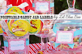 Circus Candy Buffet Ideas by Candy Buffet Printables