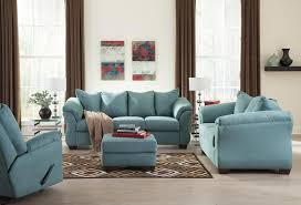Living Room Sets Cleveland Ohio Signature Design By Ashley Darcy Sky Contemporary Sectional Sofa