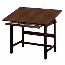 Alvin Elite Drafting Table Alvin 36 X 48 Titan Walnut Finish Drafting Table 37 High Wtb48 Wa