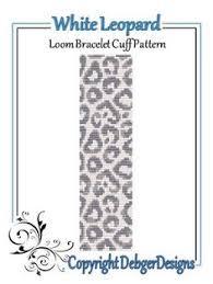 sugar skull bow loom bracelet cuff pattern beading patterns