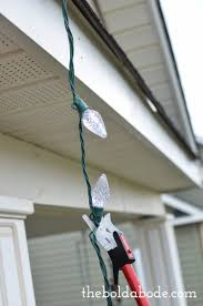 best way to hang christmas lights how to hang christmas lights without a ladder