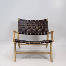 Leather Occasional Chairs Leather Weave Occasional Chair Black Leather U0026 Natural Corcovado
