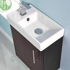 Wall Hung Vanity Unit With Basin Compact Small Vanity Units Basin Sink Storage Bathroom Wall Hung