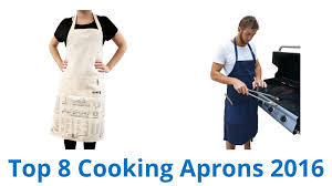 Designer Kitchen Aprons by 8 Best Cooking Aprons 2016 Youtube