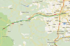 map of perpignan region perpignan villefranche vernet provence travel information