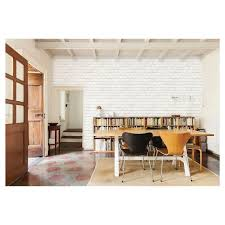 easy remove wallpaper for apartments devine color textured brick peel stick wallpaper white target