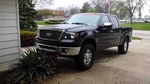 Ford F150 Truck Height - 2006 ford f150 lift kit measurements youtube