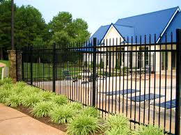 apartments beautiful metal fence corrugated designs black steel