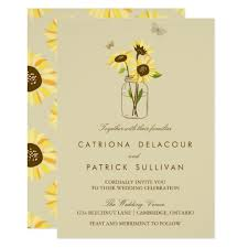 Sunflower Wedding Invitations 5 Sunflower Wedding Invitations To Brighten Your Day